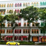 Muôn sắc cầu vồng rực rỡ trên phố Singapore