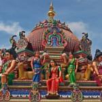 Nét thần thoại đền Sri Mariamman