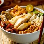 Laksa Singapore hương vị không thể chối từ