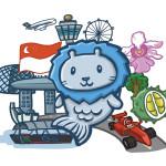 Tượng sư tử biển Merlion – biểu tượng Singapore