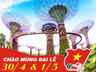 Tour du lịch lễ 30/4: Du ngoạn Singapore trong 4 ngày