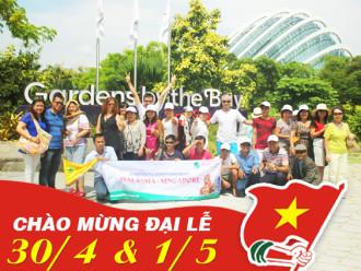 Tour du lịch lễ 30/4: Khám phá đảo quốc Singapore