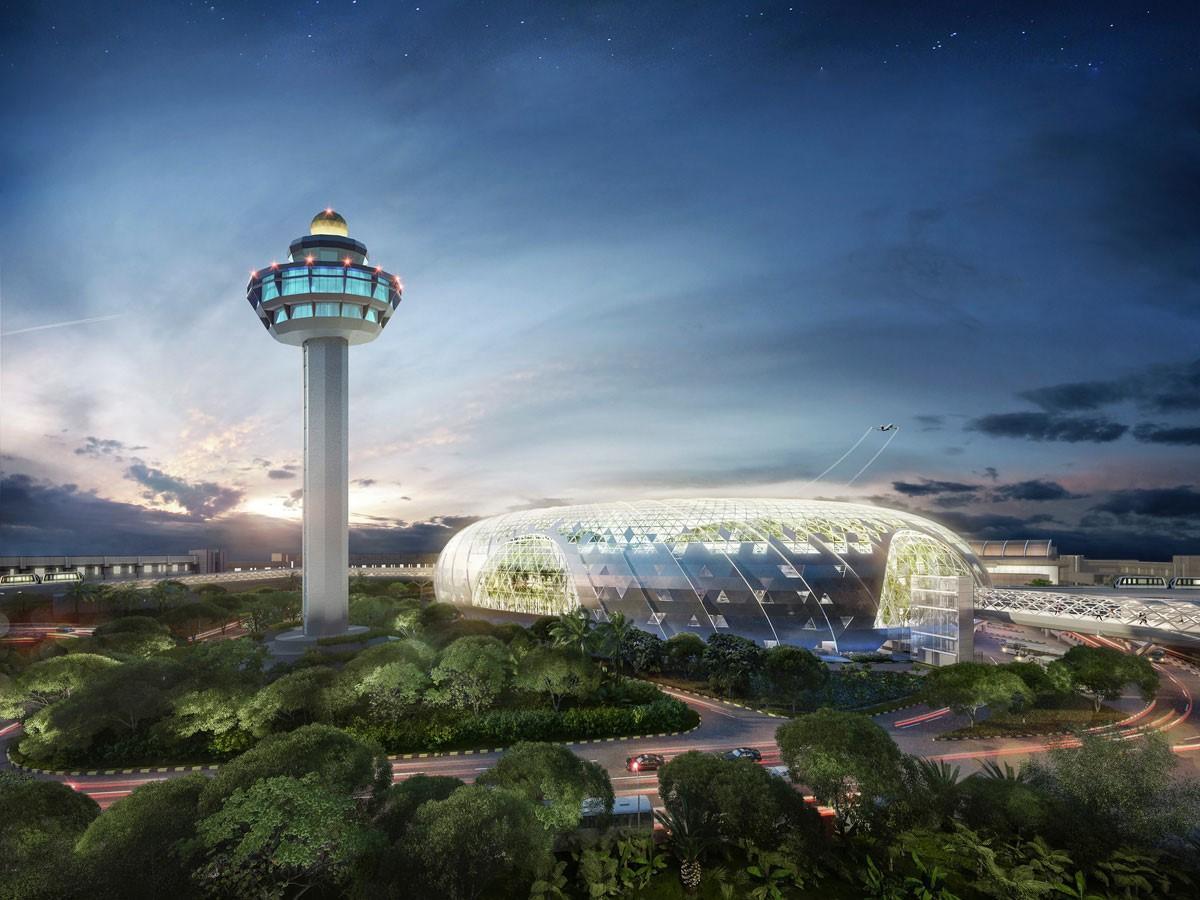 Khám phá sân bay tuyệt vời nhất thế giới - Sân bay Changi - ảnh 1